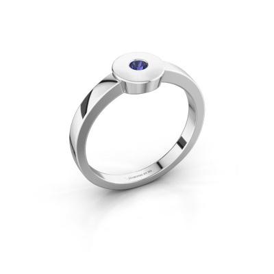 Ring Elisa 925 Silber Saphir 3 mm