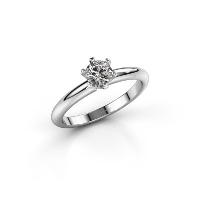 Picture of Engagement ring Tiffy 1 925 silver diamond 0.40 crt