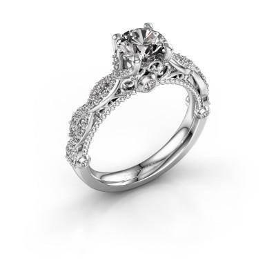 Foto van Verlovingsring Chantelle 950 platina diamant 1.399 crt
