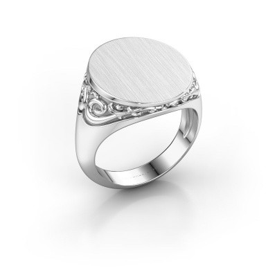 Heren ring Jelle 5 375 witgoud