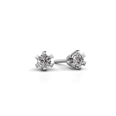 Picture of Stud earrings Shana express 585 white gold diamond 0.25 crt