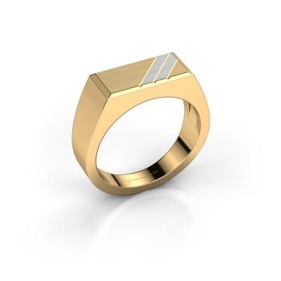 Foto van Heren ring Dree 4 585 goud