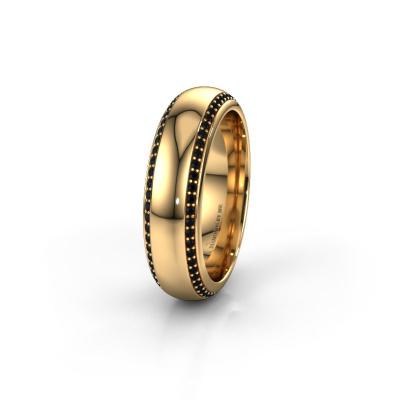 Ehering WH6132L36C 585 Gold Schwarz Diamant ±6x2.2 mm