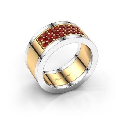 Foto van Ring Marita 6 585 goud robijn 1.7 mm