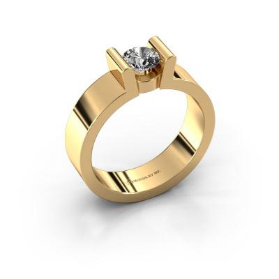 Verlovingsring Sofie 1 585 goud diamant 0.40 crt