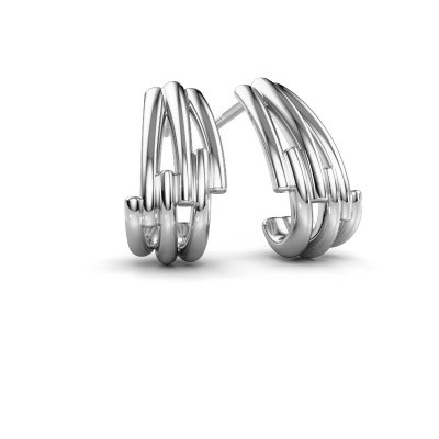 Earrings Renske 950 platinum