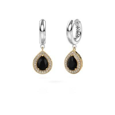 Picture of Drop earrings Barbar 1 585 gold black diamond 2.445 crt