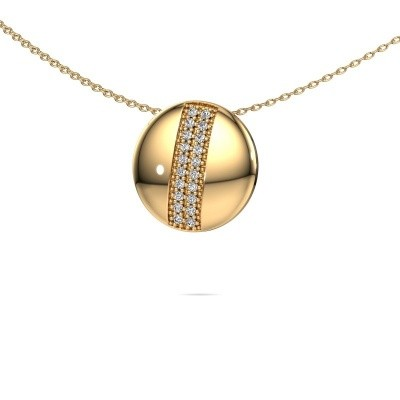 Foto van Collier Marylyn 585 goud diamant 0.15 crt