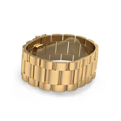 Picture of Rolex style bracelet Erik 25 mm 585 gold