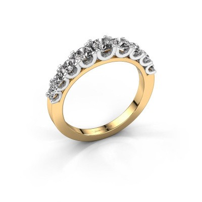 Picture of Engagement ring Selina 4 585 gold diamond 0.97 crt