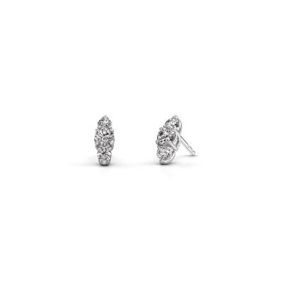 Bild von Ohrringe Amie 585 Weißgold Diamant 0.90 crt