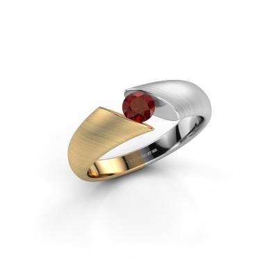 Foto van Ring Hojalien 1 585 goud granaat 4.2 mm