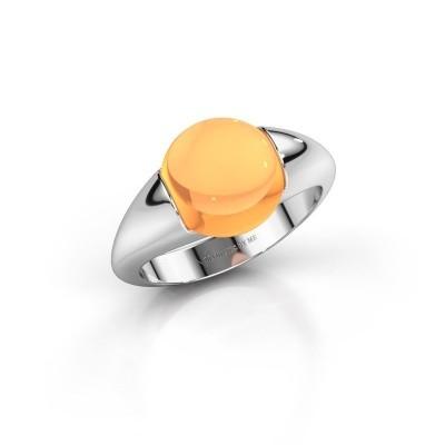 Foto van Ring Robine 950 platina citrien 10 mm