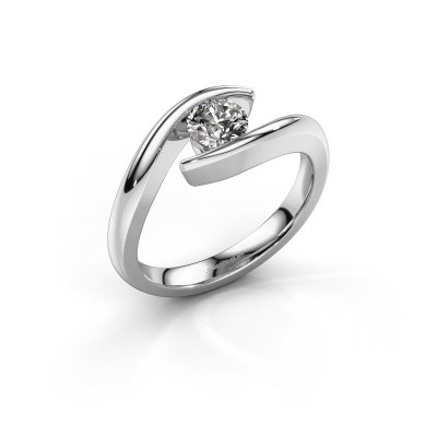 Picture of Engagement ring Alaina 950 platinum diamond 0.50 crt