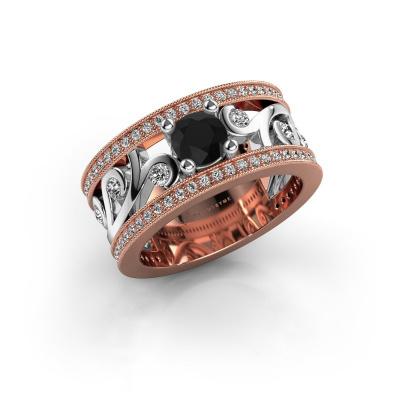 Picture of Ring Sanne 585 rose gold black diamond 1.23 crt