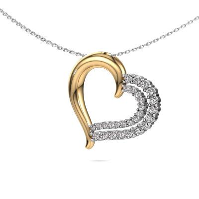 Bild von Halskette Kandace 585 Gold Diamant 0.56 crt