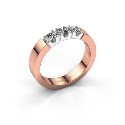 Foto van Verlovingsring Dana 3 585 rosé goud lab-grown diamant 0.450 crt