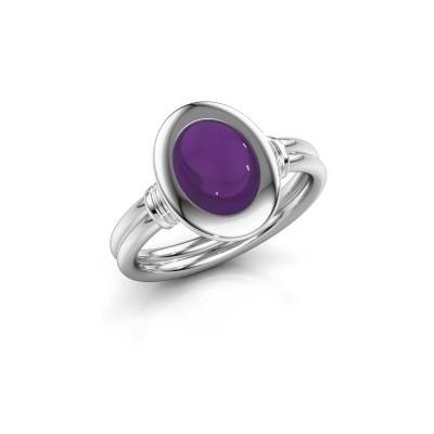 Bild von Ring Brittni 925 Silber Amethyst 9x7 mm
