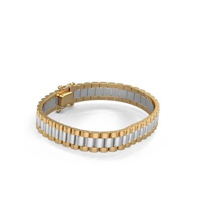 Picture of Rolex style bracelet Erik 10 mm 585 white gold