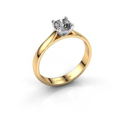 Engagement ring Sam 585 gold diamond 0.40 crt