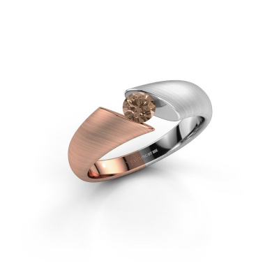 Picture of Ring Hojalien 1 585 rose gold brown diamond 0.30 crt