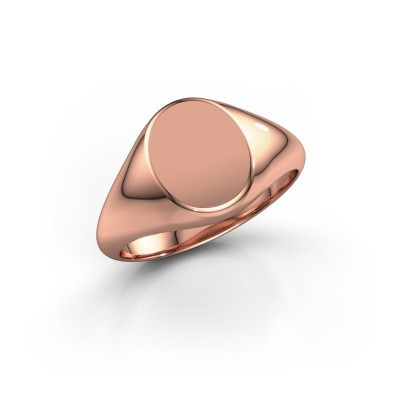 Picture of Signet ring Rochelle 2 585 rose gold
