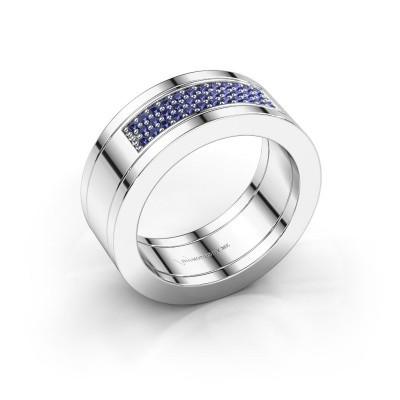 Foto van Ring Marita 1 925 zilver saffier 1.1 mm