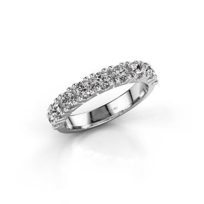 Foto van Aanzoeksring Rianne 9 925 zilver diamant 0.90 crt