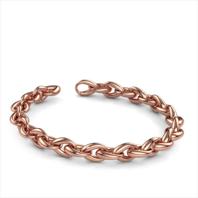 Picture of Bracelet Rachelle 10mm 585 rose gold ±0.39 in