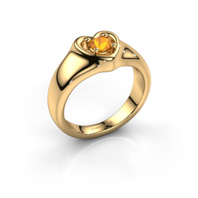 Picture of Ring Maja 585 gold citrin 4 mm