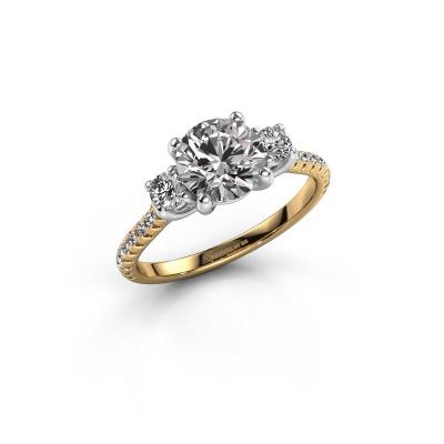 Verlobungsring Jesica 585 Gold Lab-grown Diamant 1.68 crt