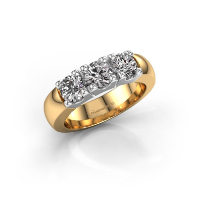 Foto van Verlovingsring Rianne 3 585 goud diamant 0.450 crt