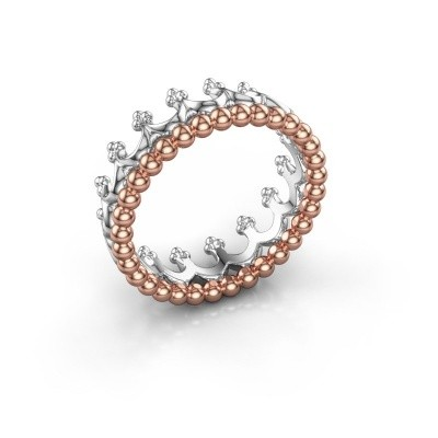Ring Star 585 rosé goud