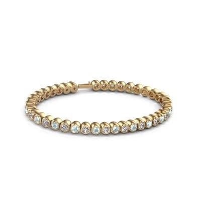 Foto van Tennisarmband Mellisa 375 goud zirkonia 3.5 mm