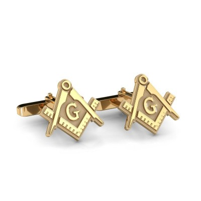 Picture of Cufflinks Danilo 585 gold