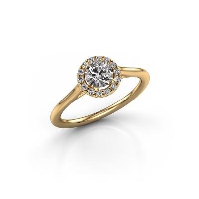Foto van Verlovingsring Seline rnd 1 375 goud lab-grown diamant 0.605 crt