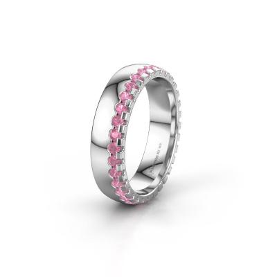 Ehering WH6122L25B 950 Platin Pink Saphir ±5x2 mm