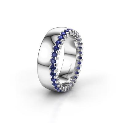 Ehering WH6120L27C 925 Silber Saphir ±7x2.2 mm