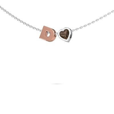 Picture of Initial pendant Initial 040 585 rose gold
