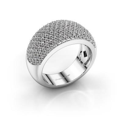 Foto van Ring Kati 950 platina lab-grown diamant 1.20 crt
