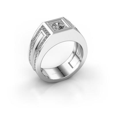 Foto van Heren ring Lando 925 zilver zirkonia 4.7 mm