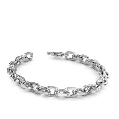 Picture of Bracelet anchor 1 7mm 585 white gold ±0.28 in
