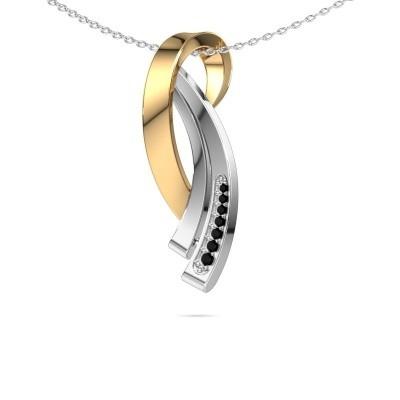 Foto van Ketting Lida 585 goud zwarte diamant 0.076 crt