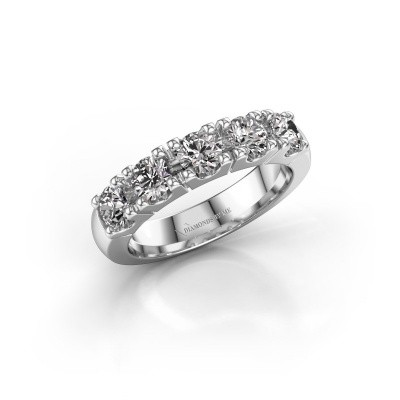 Photo de Bague de fiançailles Rianne 5 585 or blanc diamant 1.25 crt