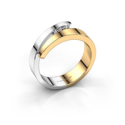 Foto van Ring Alia 585 goud diamant 0.065 crt