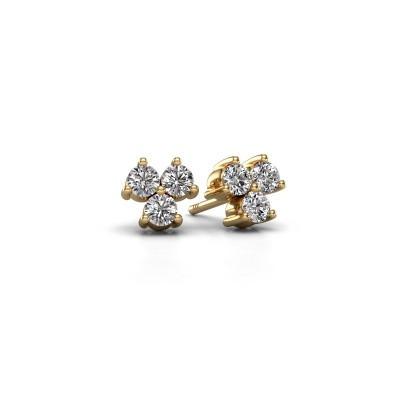 Bild von Ohrsteckers Shirlee 375 Gold Diamant 0.60 crt