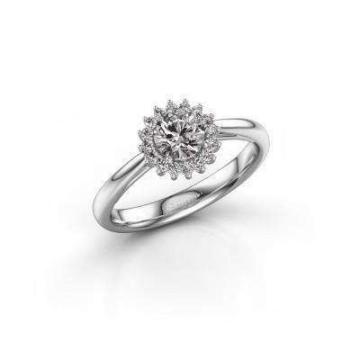 Bild von Verlobungsring Mariska 1 925 Silber Diamant 0.50 crt