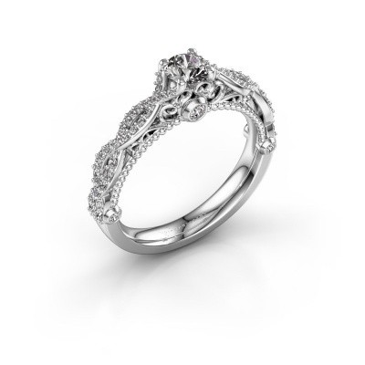 Verlobungsring Chantelle 950 Platin Diamant 0.683 crt