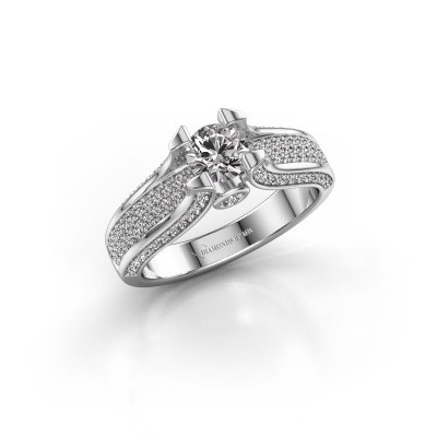 Bague de fiançailles Jeanne 2 950 platine diamant 1.026 crt
