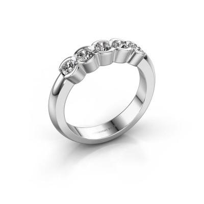 Foto van Verlovingsring Lotte 5 585 witgoud lab-grown diamant 0.50 crt
